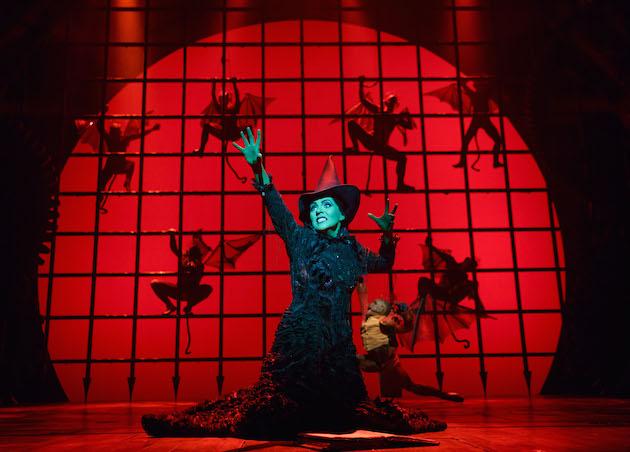 Rachel Tucker in Wicked