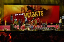 A number from In The Heights, which won three Olivier Awards