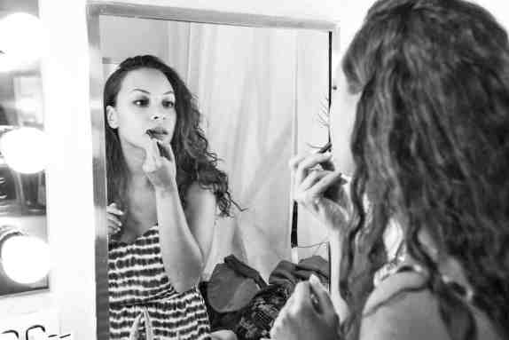 Jasmine Cephas Jones,, who portrays both Peggy Schuyler and Maria Reynolds in Hamilton