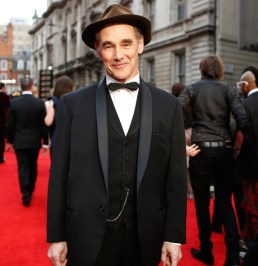 Mark Rylance on red carpet