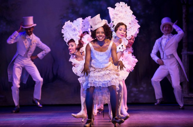 "Adrienne Warren and company perform ""I'm Just Wild About Harry"" in Shuffle Along,"