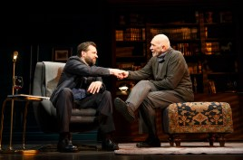 Brian Avers with Frank Langella