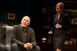 Frank Langella with Kathleen McNenny