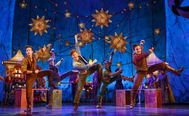 Andrew Keenan Bolger and cast