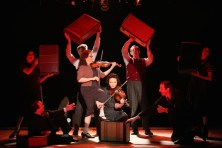 Photograph from the Off-Broadway production.