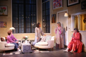 Babes 4 Angelina Fiordellisi, Francesca Choy-Kee, Judith Ivey and Estelle Parsons. Photo by Carol Rosegg