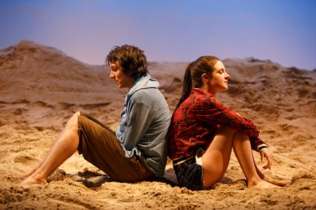 Owen Campbell and Elise Kibler