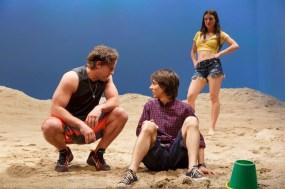 Joe Tippett, Owen Campbell, and Elise Kibler