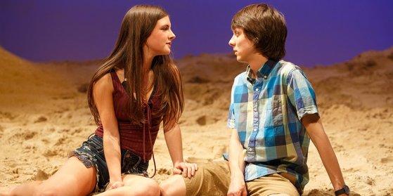 Elise Kibler and Owen Campbell