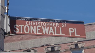 Stonewall Place sign