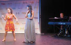 Elly Noble and Shoba Narayan in Tink!