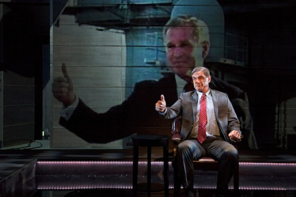 "In ""The Trial of an American President,"" a 2016 play, George W. Bush defended himself before the International Criminal Court."