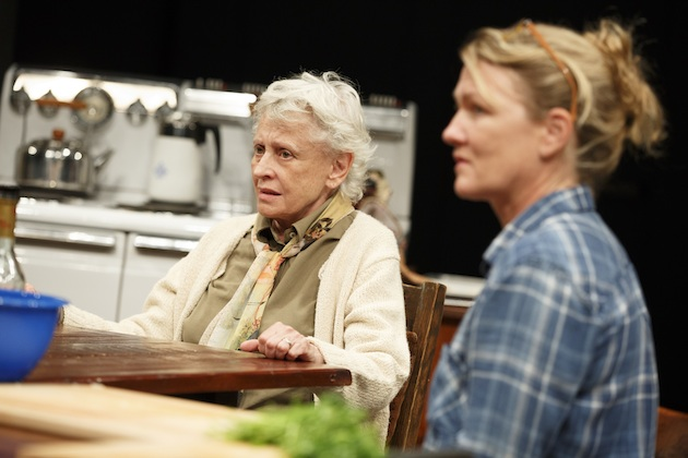 Roberta Maxwell and Lynn Hawley as mother and daughter-in-law in What Did You Expect?,