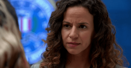 Mandy Gonzalez as Susan Combs in the TV series Quantico. She also portrays Lucy Knox in Madam Secretary.