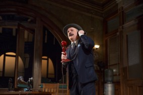 Nathan Lane in The Front Page, 2015