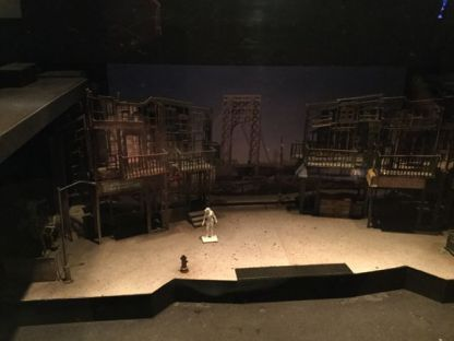 The model for the set of In The Heights at the Public Theter