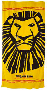 The Lion King beach towel