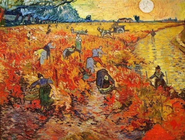 theredvineyardbyvangogh