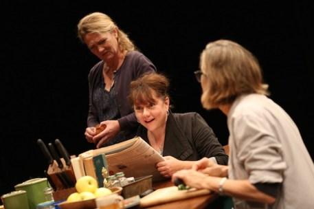 Lynn Hawley, Amy Warren, and Meg Gibson