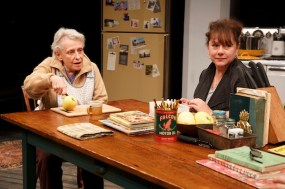 Roberta Maxwell and Amy Warren