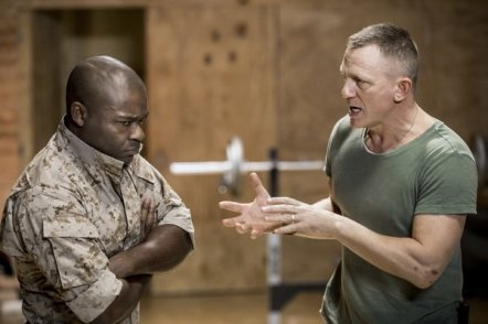 David Oyelowo as Othello and Daniel Craig as Iago