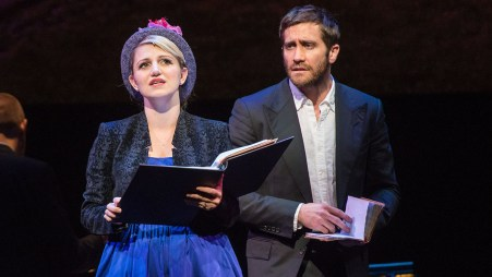 Annaleigh Ashford and Jake Gyllenhaal