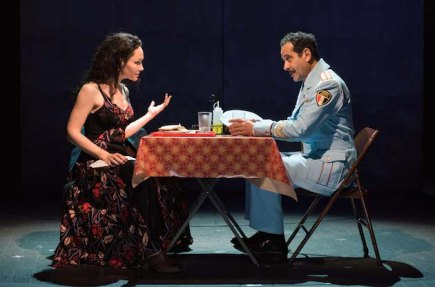 (l-r) Katrina Lenk and Tony Shalhoub