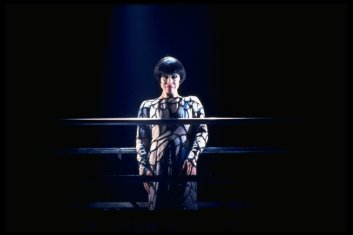 """Chita Rivera in a scene from the Broadway production of the musical """"Kiss Of The Spiderwoman""""."""