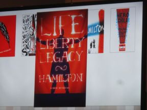 Some of the ideas for what the advertising campaign for Hamilton should look like