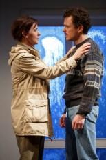 Jacqueline McKenzie as Sophia and Chris Ryan as her new husband Sophia