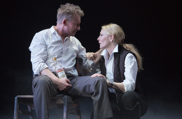 Richard Roxburgh and Cate Blanchett
