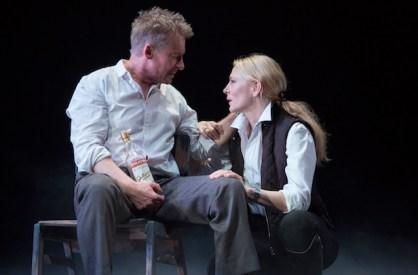 Richard Roxburgh and Cate Blanchett