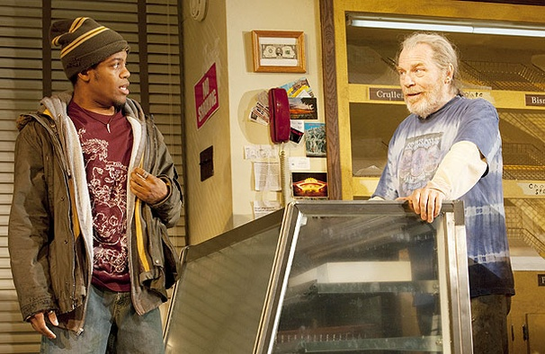 In the play, Jon Michael Hill portrayed Franco Wicks and Michael McKean was Arthur Przybyszewski