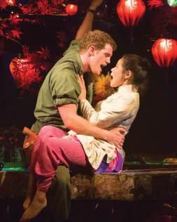Miss Saigon 9 - Alistair Brammer as Chris and Eva Noblezada as Kim