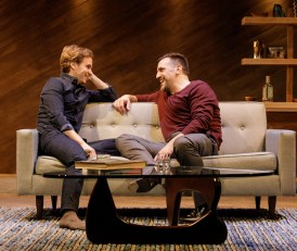 Ryan Spahn as Daniel and Matthew Montelong as Mitchell in Daniel's Husband