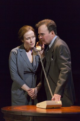 Jennifer Ehle and Jefferson Mays