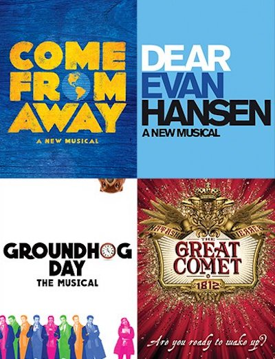 Best Musical Tony noms logos