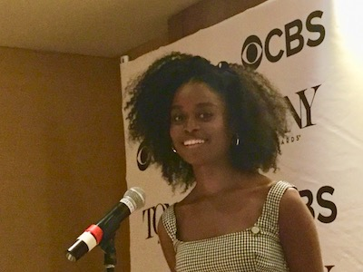 """Denee Benton, Great Comet, best performance by an actress in a leading role in a musical. """"It's really special, but I'm always exhausted."""""""