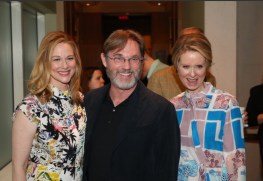Laura Linney, Richard Thomas, Cynthia Nixon, The Little Foxes, respectively nominated for lead actress, featured actor, featured actress in a play.