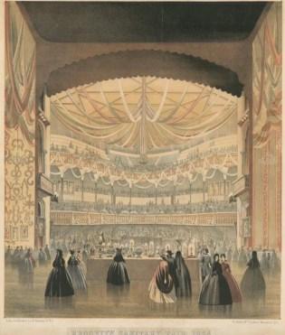 Illustration of the Brooklyn and Long Island Sanitary Fair, 1864
