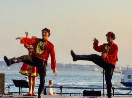 Kaledescope Russian youth folk dance group