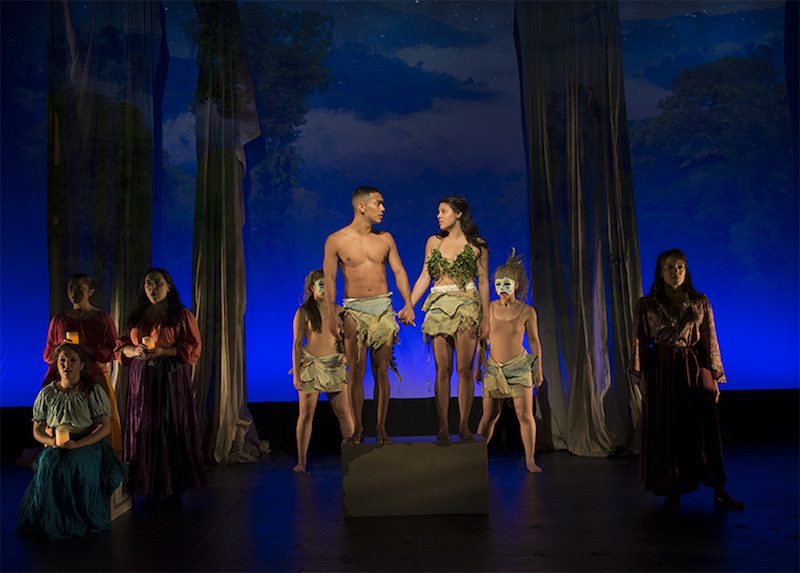 Temple of Souls 3 Andres Quintero as Guario and Noellia Hernandez as Amada_Photo by John Quilty
