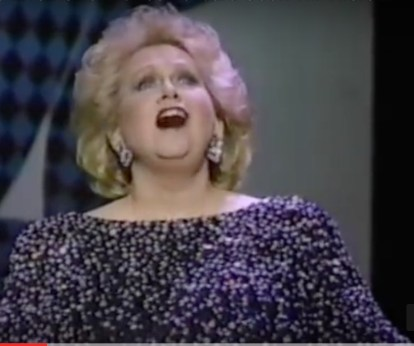 Barbara Cook singing