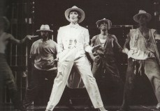 """Chita Riera and the prisoners sing and dance 'Where You Are' -- my favorite number in Kiss of the Spider Woman. (Photo by Martha Swope Billy Rose Theatre Division, The New York Public Library for the Performing Arts)"""