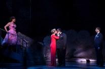 Karen Ziemba, Emily Skinner, Chuck Cooper, and Tony Yazbeck in Follies