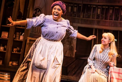 Bryonha Marie Parham and Kaley Ann Voorhees in iShowboat