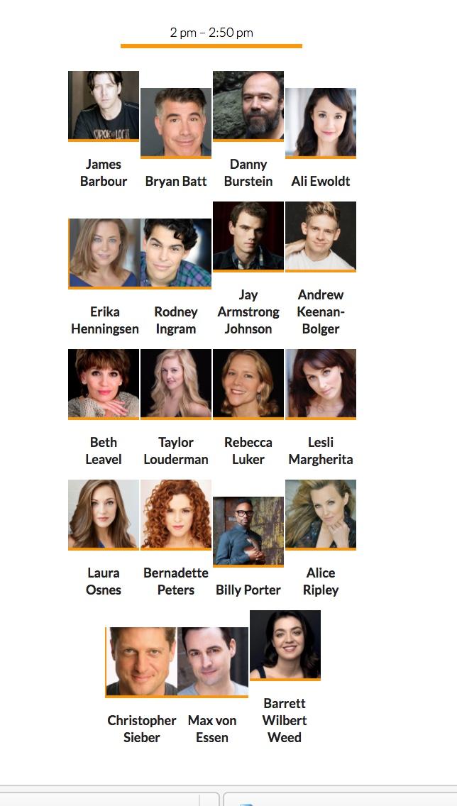 Broadway Flea Autographs 4