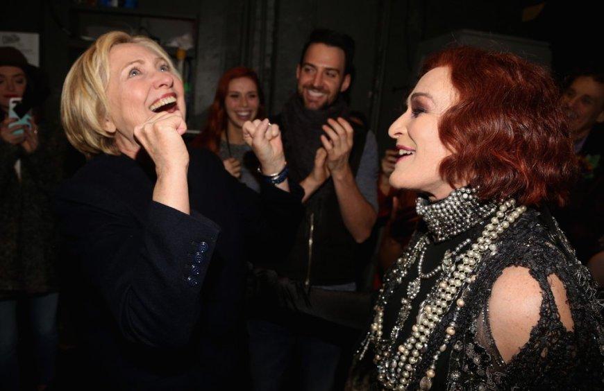 Hillary at Sunset Boulevard