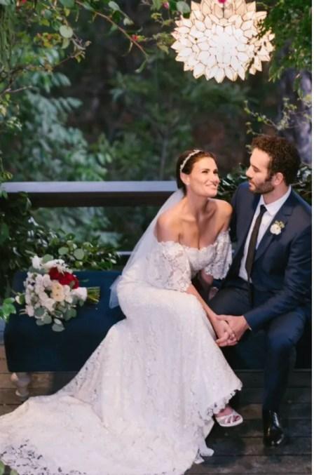 Idina Menzel wedding