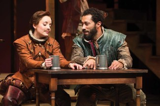 Shakespeare in Love at The Oregon Shakespeare Festival. This stage adaptation of the movie will be the most produced play in TCG theaters in the U.S. in the 2017-2018, according to American Theatre Magazine -- everywhere but New York City.